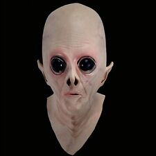 Silicone Face Mask Alien Ufo Party Horror Rubber Latex Full Masks For Party