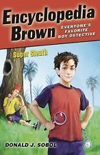 Encyclopedia Brown,Super Sleuth-ExLibrary