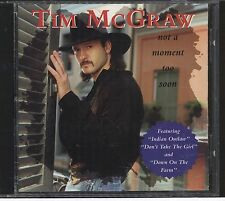 Not a Moment Too Soon by Tim McGraw (CD, Mar-1994, Curb country cd