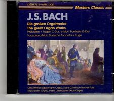 (FH779) Bach: The Great Organ Works - CD