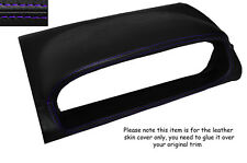 PURPLE STITCHING SPEEDO HOOD SKIN COVER FITS NISSAN X-TRAIL 2005-2007 FACELIFT
