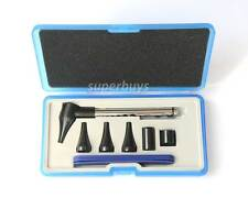 Professional Otoscope Kit Pen Shape Earcare Diagnostic Medical Ear Nose Tool Set