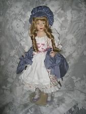 LITTLE BO BEEP PORCELAIN DOLL BY HELEN KISH FRANKLIN HEIRLOOM COLLECTOR DOLL