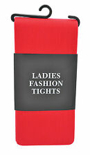 Red Adult Ladies Christmas Fashion Tights Elf  Xmas Party Fancy Dress Costume
