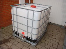 IBC 1000 Litre window cleaning PURIFIED WATER storage & transport tank in ESSEX