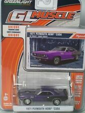 '71 Plymouth HEMI Cuda  Purple 1971 **Greenlight Muscle 1:64 NEU+OVP