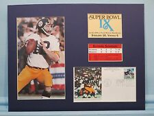 Pittsburgh Steelers led by Terry Bradshaw win Super Bowl IX & First day Cover