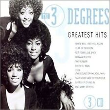 Greatest Hits [Goldies] by The Three Degrees (CD, Nov-2001, Goldies)