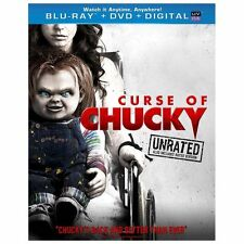 Curse of Chucky (Blu-ray + DVD + UV ) Unrated/Rated Version BRAND NEW Free SHIP