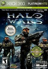 Halo Wars - Platinum Hits - Xbox 360 EXCELLENT CONDITION SHIPS NEXT DAY