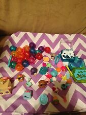 Littlest Pet Shop LPS Teensies: 48pc Lot of Accessories Costumes Playsets Bubble