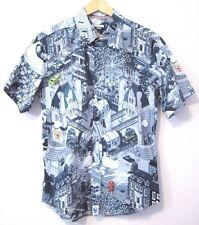 Paul Smith Jeans eBoy Short Sleeve Shirt London Pixel Map Print 1908 Collectors