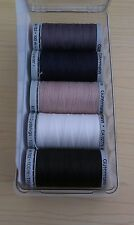 Gutermann-5pc Extra Strong Thread Collection in Presentation Pack-5 x100m Reels
