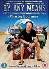 Charley Boorman By Any Means (2008) BRAND NEW AND SEALED UK REGION 2 DVD