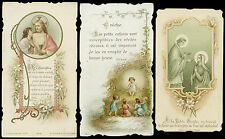 lotto santini-holy cards lot-lot images pieuses-konvolut heiligenbildichen 2507