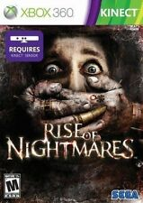 Rise Of Nightmares (Xbox 360 Scary Fun Horror Kinect Video Game SEGA) Brand NEW