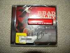New Sealed Brad Paisley Time Well Wasted CD 2005 Country Music Bonus Track Album