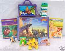 Lion King Lot Simba Nala Zazu Scar Figures Plush Lunchbox Book Puzzle Necklace