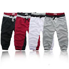 Mens Casual Athletic Sport Rope Shorts Pants Jogging Cropped Trousers S-2XL B439