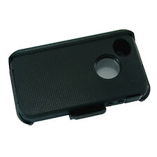 New For Apple iPhone 4/4s Defender BLACK Case Cover w/Belt Clip&Buid in Screen b