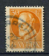 Bavaria 1914 SG#184A 30pf Orange Used #A62532