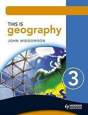 This is Geography: Pupil Book Bk. 3, Widdowson, John, Very Good condition, Book