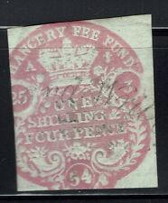 Great Britain - 1853 1/4P Chancery Court Stamp - Barefoot #35 - Lot 040416