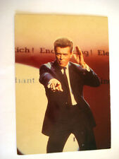 CPA 1986 DAVID BOWIE CARTE POSTALE