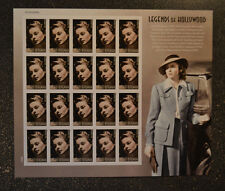 2015USA  #5012   Forever Ingrid Bergman Legends of Hollywood - Sheet of 20