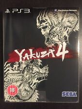 Yakuza 4 - Kuro Edition PS3 (UK PAL)