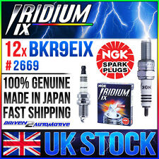 12x NGK Spark Plug UPGRADE BKR9EIX Fits 08/1986 –  02/1990 FORD SIERRA COSWORTH