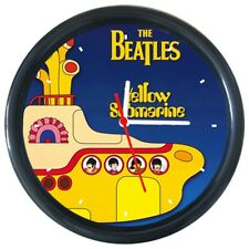 Beatles Yellow Submarine Music Record Design Singer Star Artist Wall Clock