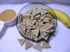 Peanut Butter/Banana Homemade Dog Treats For Your Pet Great Taste 4 oz