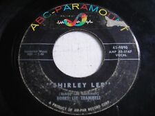 w SLEEVE Bobby Trammell Shirley Lee / I Sure Do Love You Baby 1958 45rpm