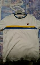 Fila Shirt t shirt  White fitted. cracking top