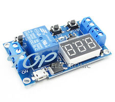 5V LED Automation Delay Timer Control Switch Relay Module Display Micro USB