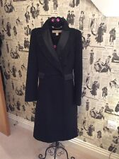 STELLA McCARTNEY FOR H&M BLACK WOOL MILITARY RIDING STEAMPUNK VICTORIAN COAT 34