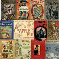 360+ Vintage/old CHILDREN STORY/PICTURE BOOKs 1800's-1900's .pdf on DVD Vol.# 2