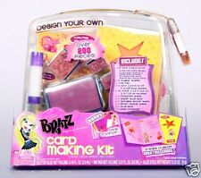 BRATZ - Card Making Kit - Over 200 Pieces!! Bonus Desk Organizer - Gift Idea