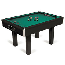 Black Bumper Pool Table with FREE Shipping