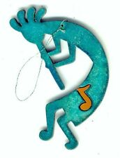COPPERCUTTS Kokopelli w/ Music Ornament SWest Copper w/ Choice of Primary Color!