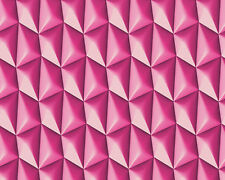 AS Creations 'Harmony in Motion' Wallpaper by Mac Stopa-Flutey Fuchsia