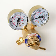 NEW Oxygen Gas Regulator Welding Cutting Torch Pressure Gauge Fits Victor Brass