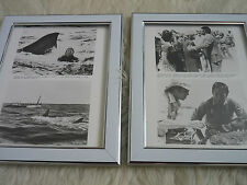 Jaws II 2 Chief brody roy scheider Shark photos Original Lobby card Framed