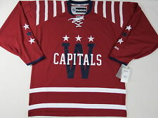 New Reebok Washington Capitals NHL Winter Classic Hockey Player Jersey Mens XL
