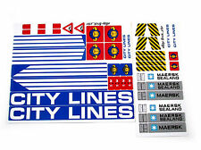 STICKERS CUSTOM for LEGO 7994 City Harbour BUILDS, Models, Toys, Etc