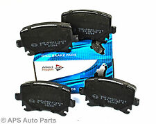 VW Caddy Golf Mk5 Mk6 Jetta Passat Scirocco Touran Rear Axle Brake Pads New