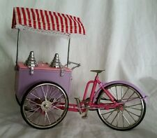 1-10th Scale Ice Cream Cart Bike Bicycle Tricycle Trike model in Box Taiwan