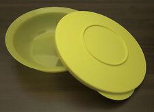 Tupperware J 06 Junge Welle 400 ml Schale Schüssel mit Deckel Gelb Neu