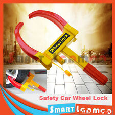 Steel Car Wheel Lock Antitheft Safety Clamp Security Tyre Vehicle 3 Keys Trailer